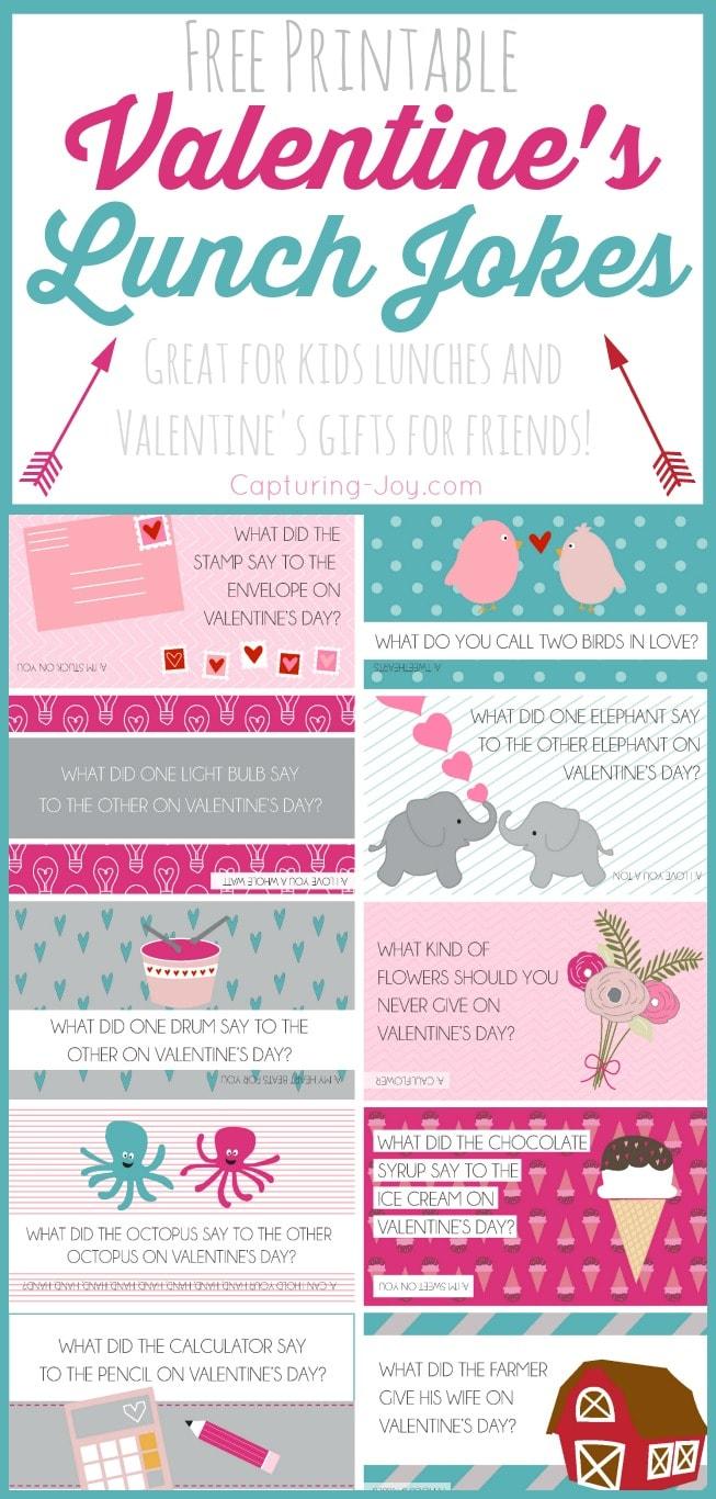 Free Printable Valentine Jokes