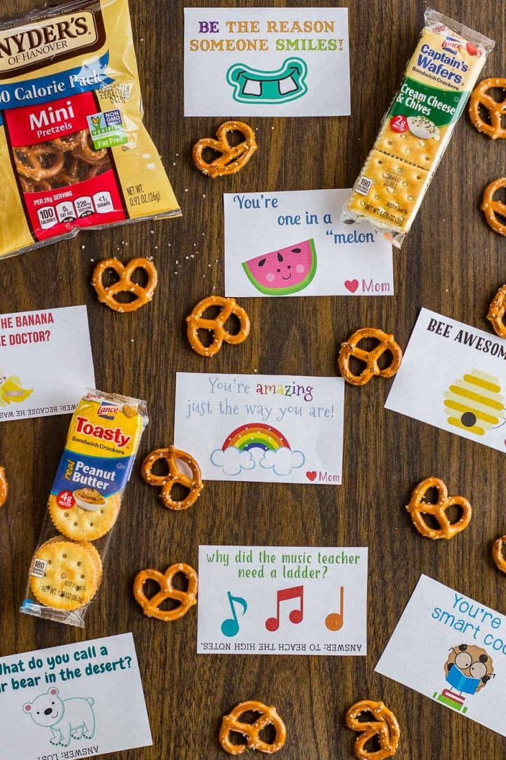 Free Printable Lunch Box Notes for Children