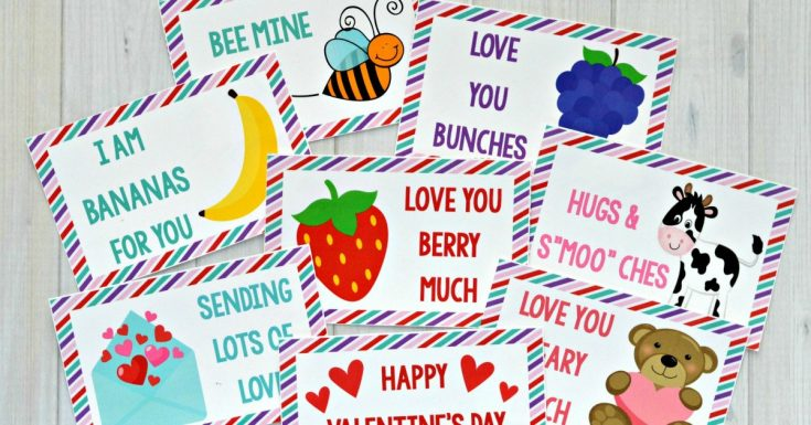 Valentine's Day Lunch Box Notes