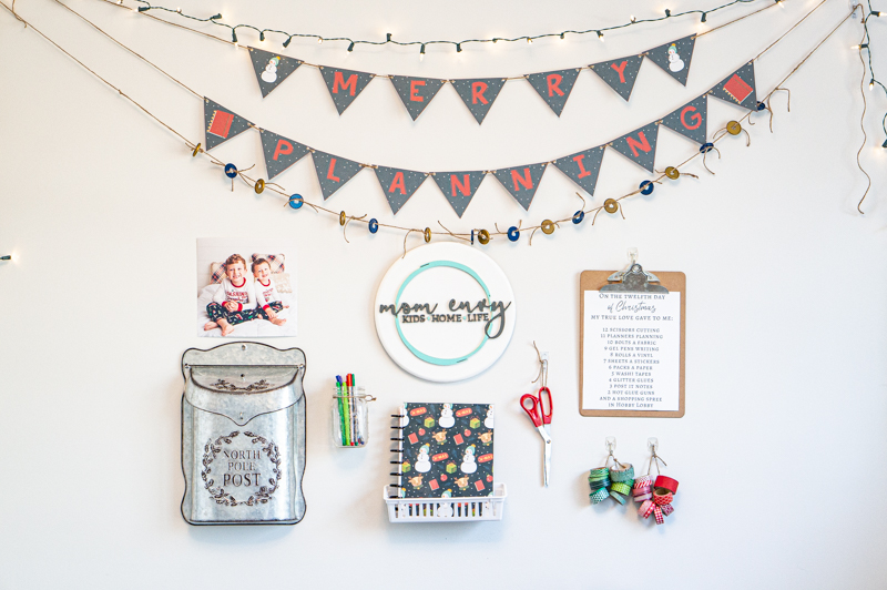 #shop DIY Planner Christmas Display using products from Command™