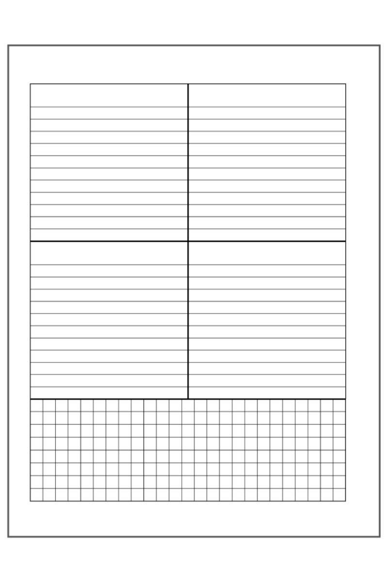 Free dashboard layout planner printables example.