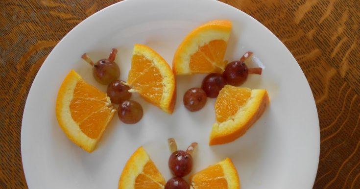 Orange Slice Butterflies