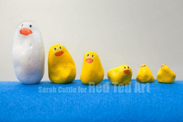 Kids Get Crafty: 5 Little Ducks went Swimming One Day...