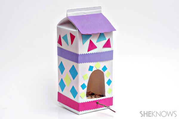 Simple bird feeders kids can make