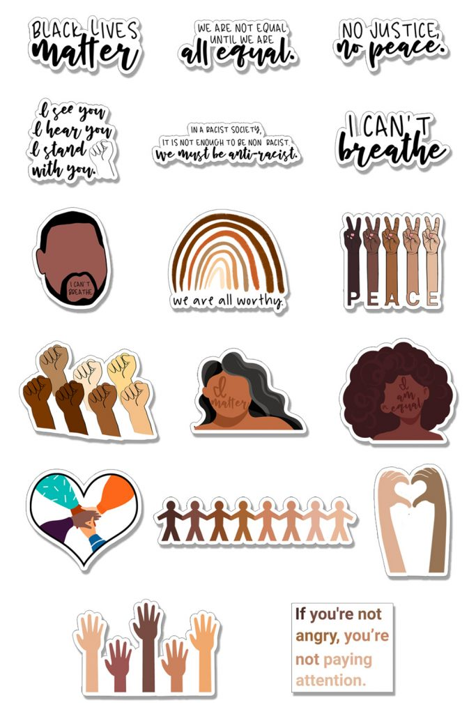 Free Black Lives Matter Svgs Silhouette Files