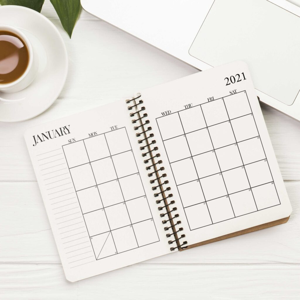 2021 Free Printable Calendar - Neutral 2021 Calendar